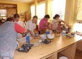1. den pečení